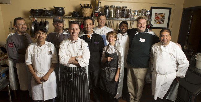 The Cooking With Kids Fundraiser at Santa Fe School of Cooking