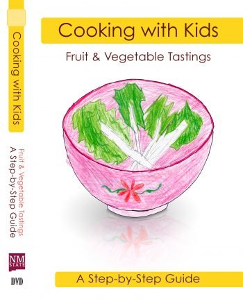 Cooking with Kids Fruit and Vegetable Tastings DVD cover