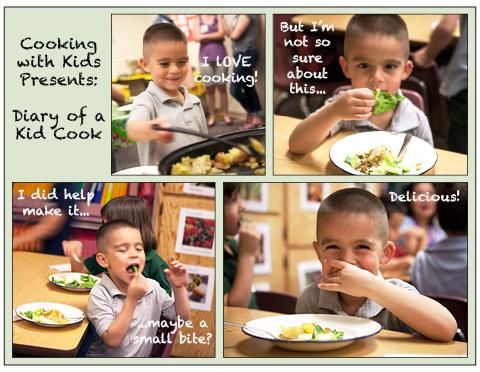 Diario de un niño de Cook