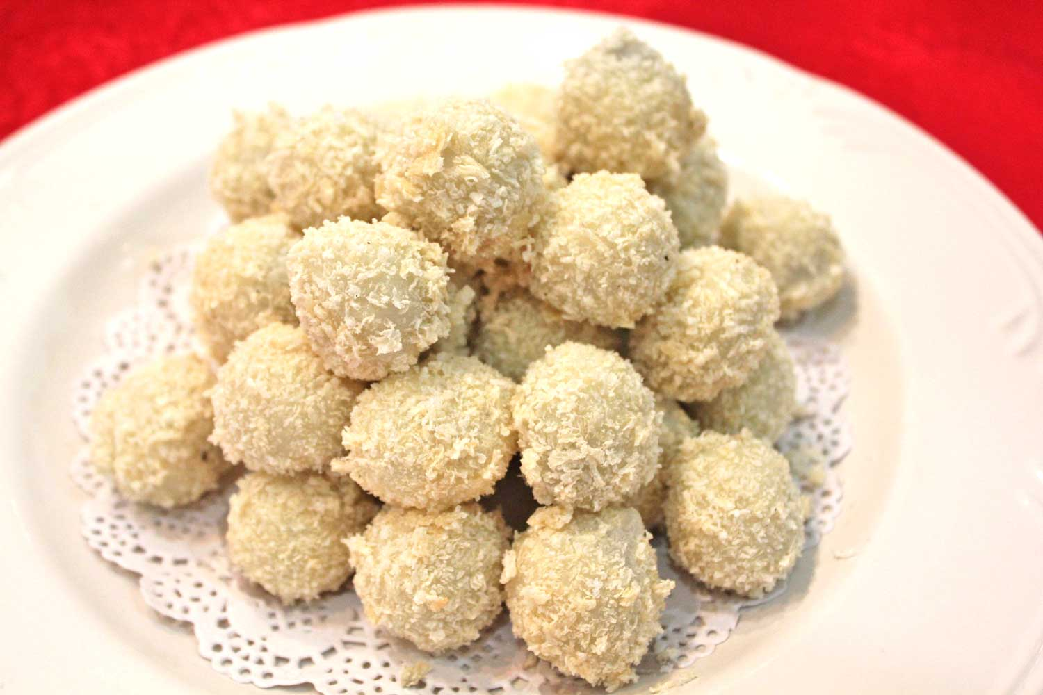 Coconut Rice Balls - Cooking with Kids